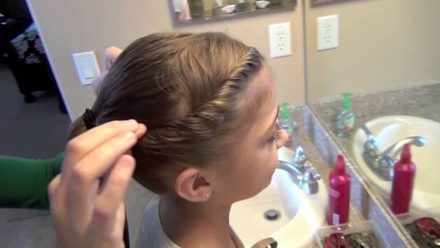 Pretty Little Spiral Twist Hair Buns