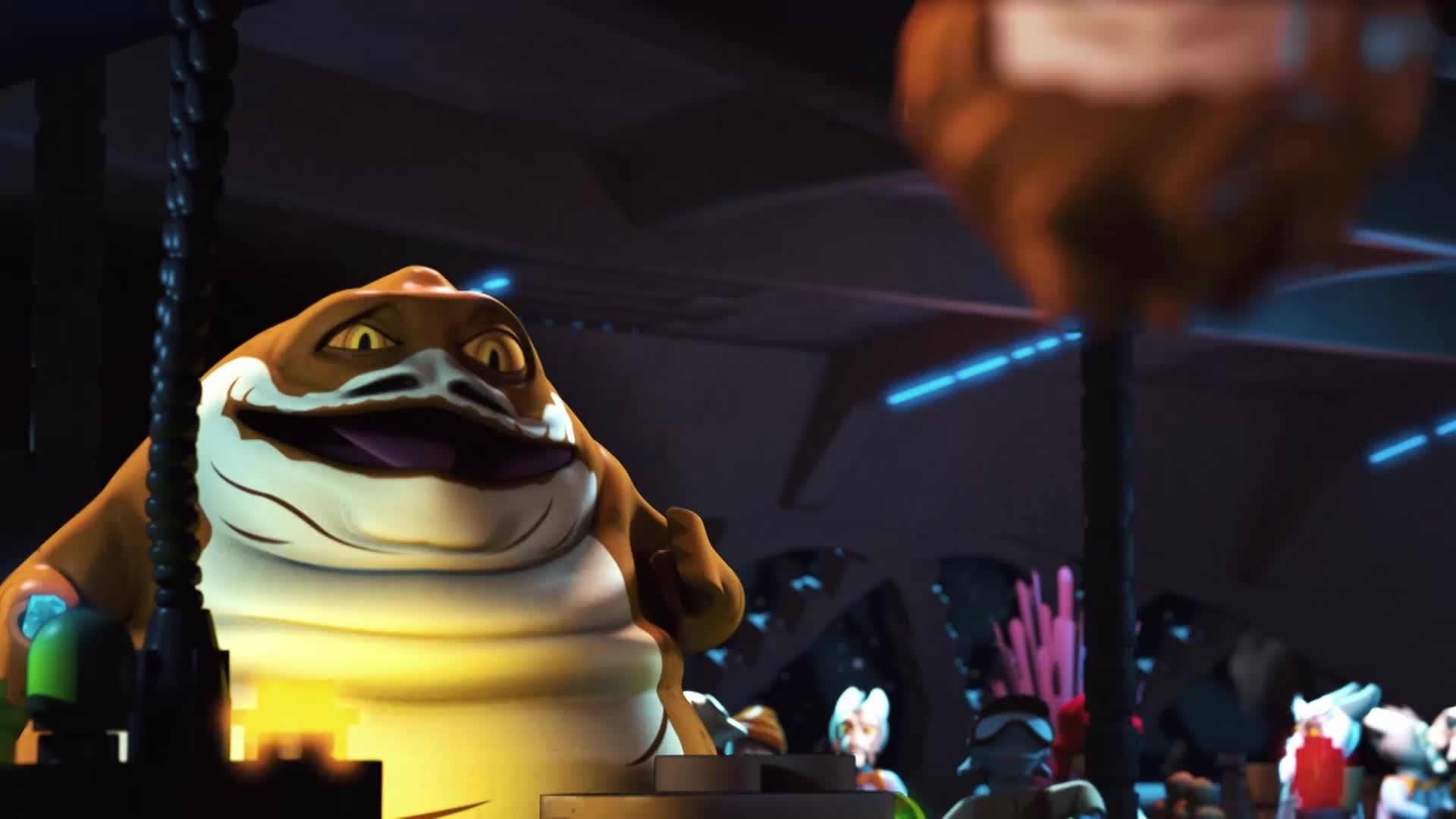 Star Wars: De Avonturen van de Bouwmeesters - De Hutt's schip