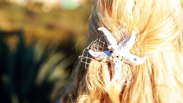 DIY Ariel Starfish Headpiece - A Disney Exclusive from Evelina Barry