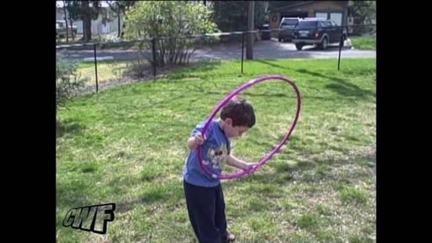 Kid Hula Hoop Fail