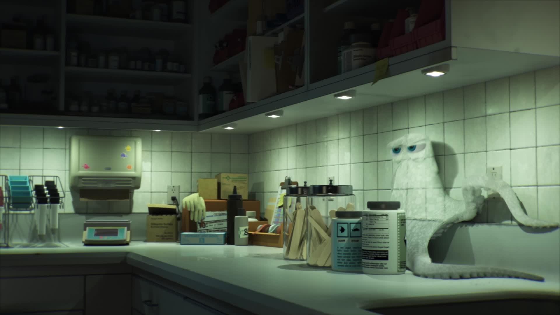 Finding Dory - Maak kennis met Hank