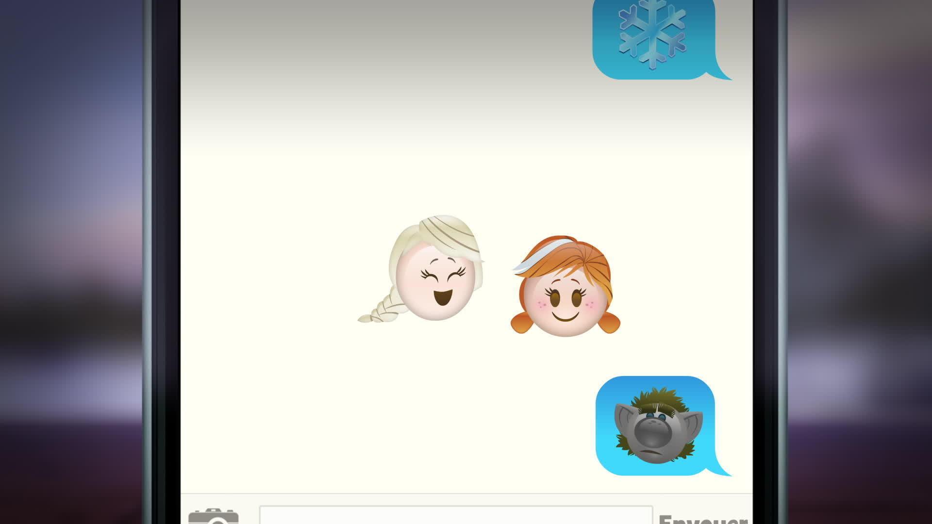 Disney Emojis - La Reine des Neiges raconté en Emojis