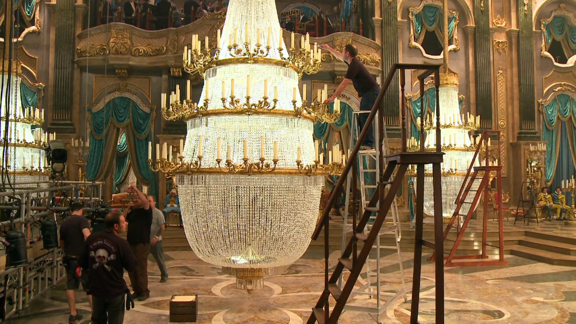 Staging the Ball: Ballroom Detail - Cinderella Featurette