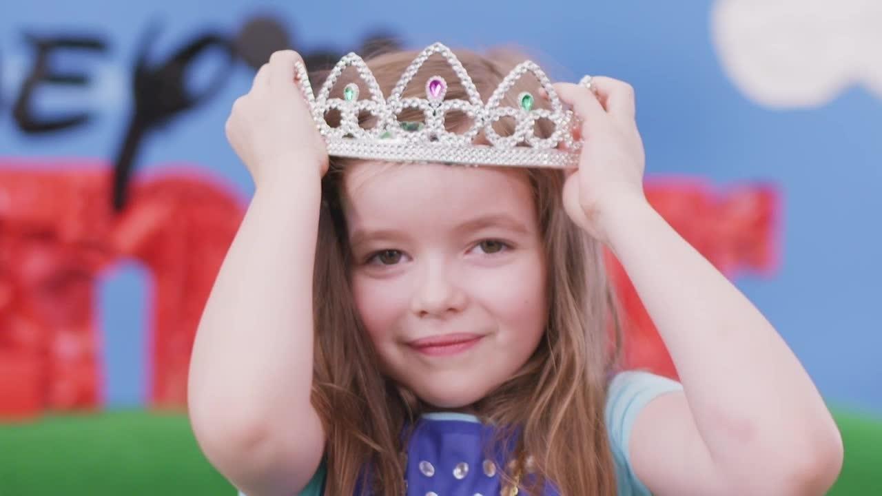 صوفيا تصبح أميرة