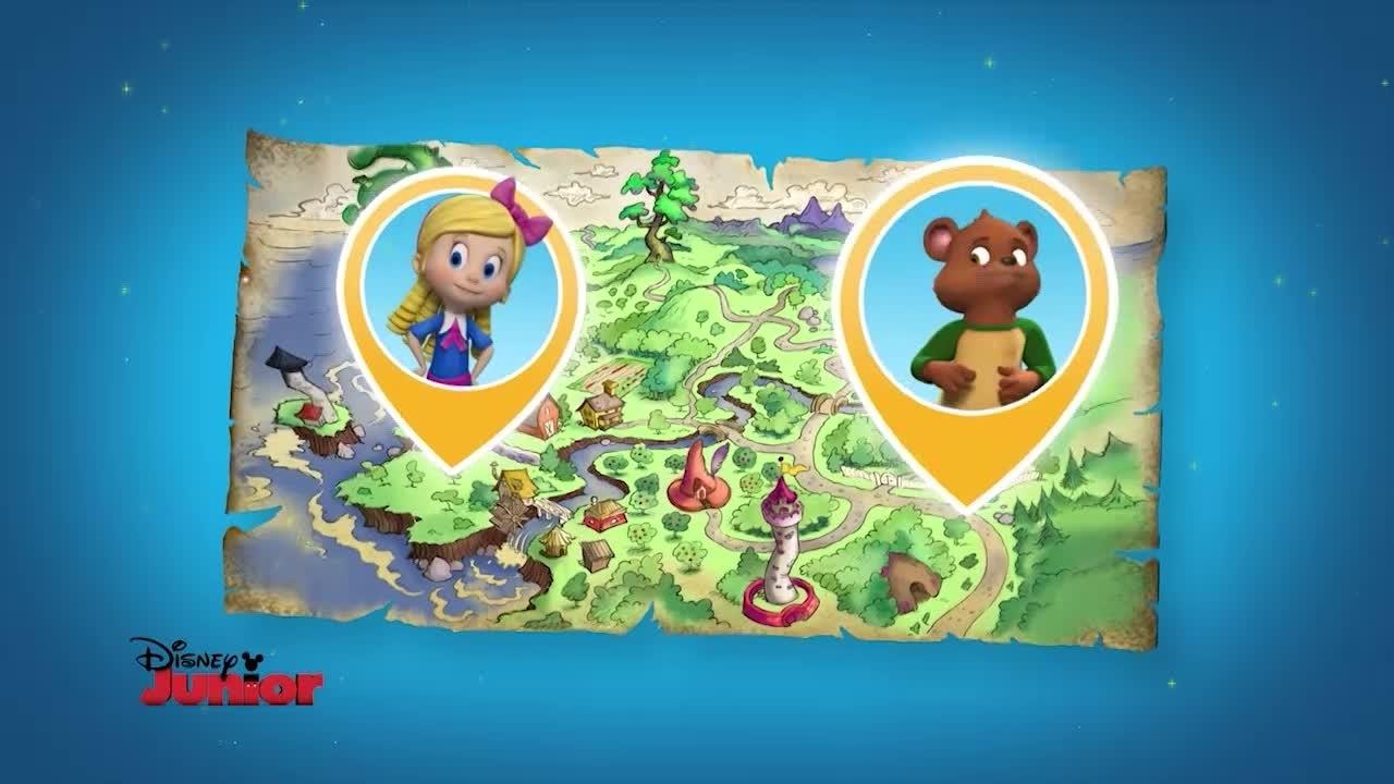 Continua la storia nella magica foresta di Riccioli d'oro ed orsetto!