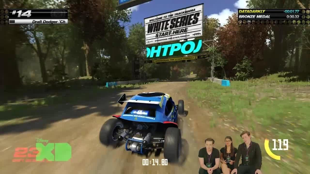 Gamefest - Trackmania Play Through
