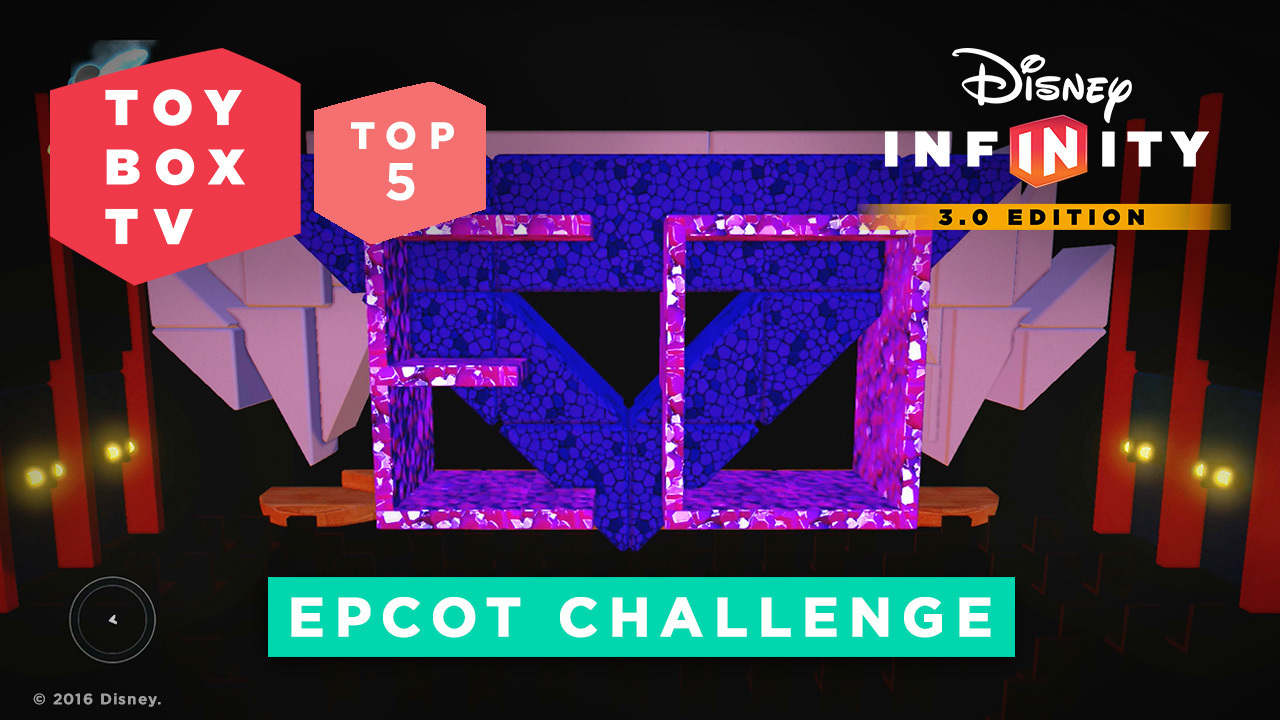 EPCOT Challenge - Top 5 Toy Boxes - Disney Inifinity Toy Box TV