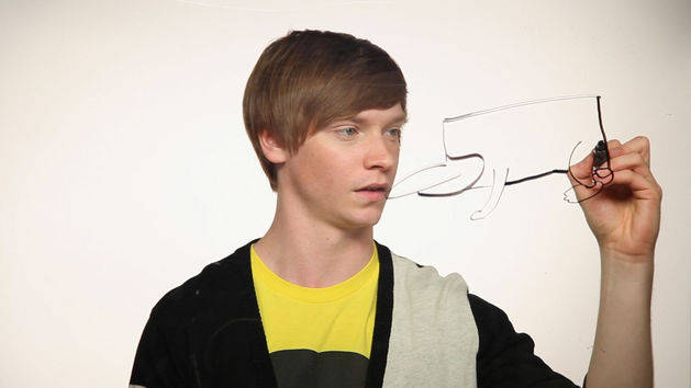 Draw Perry: Calum Worthy