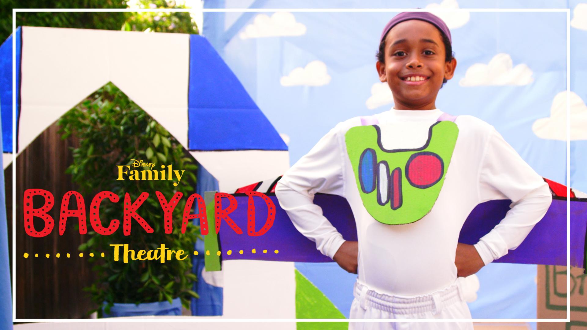 Backyard Theatre: Buzz Costume DIY | Disney Family