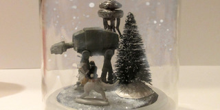 DIY Hoth Snow Globe