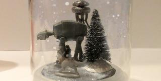 DIY Hoth Snow Globe
