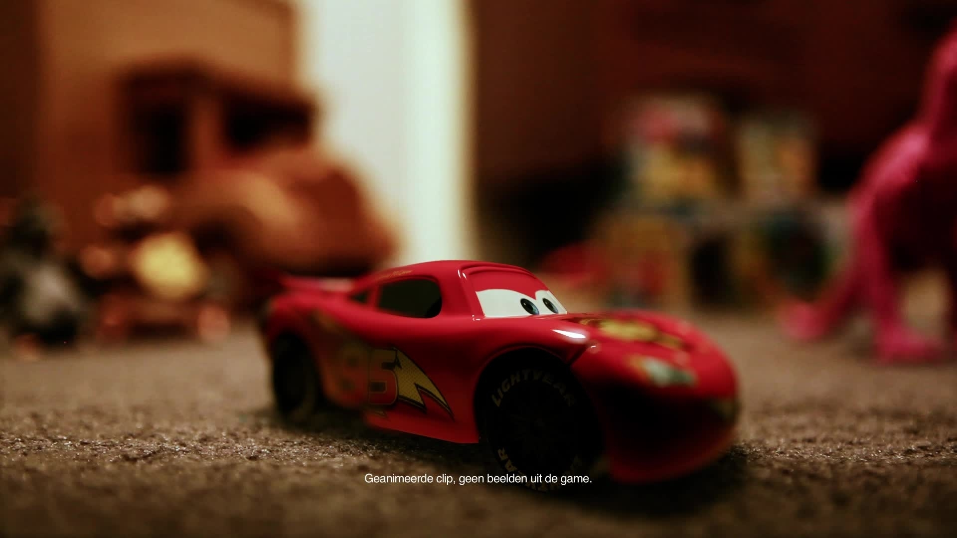 Cars Daredevil Garage - Testrit in de Speelkamer