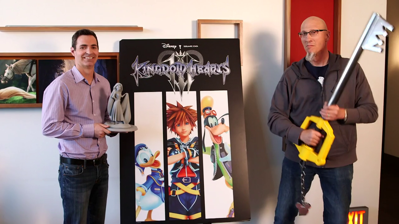 Kingdom Hearts III - Walt Disney Animation Studios Announcement