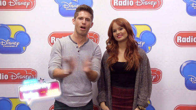 Celebrity Take with Jake: Dance Moves with Debby Ryan