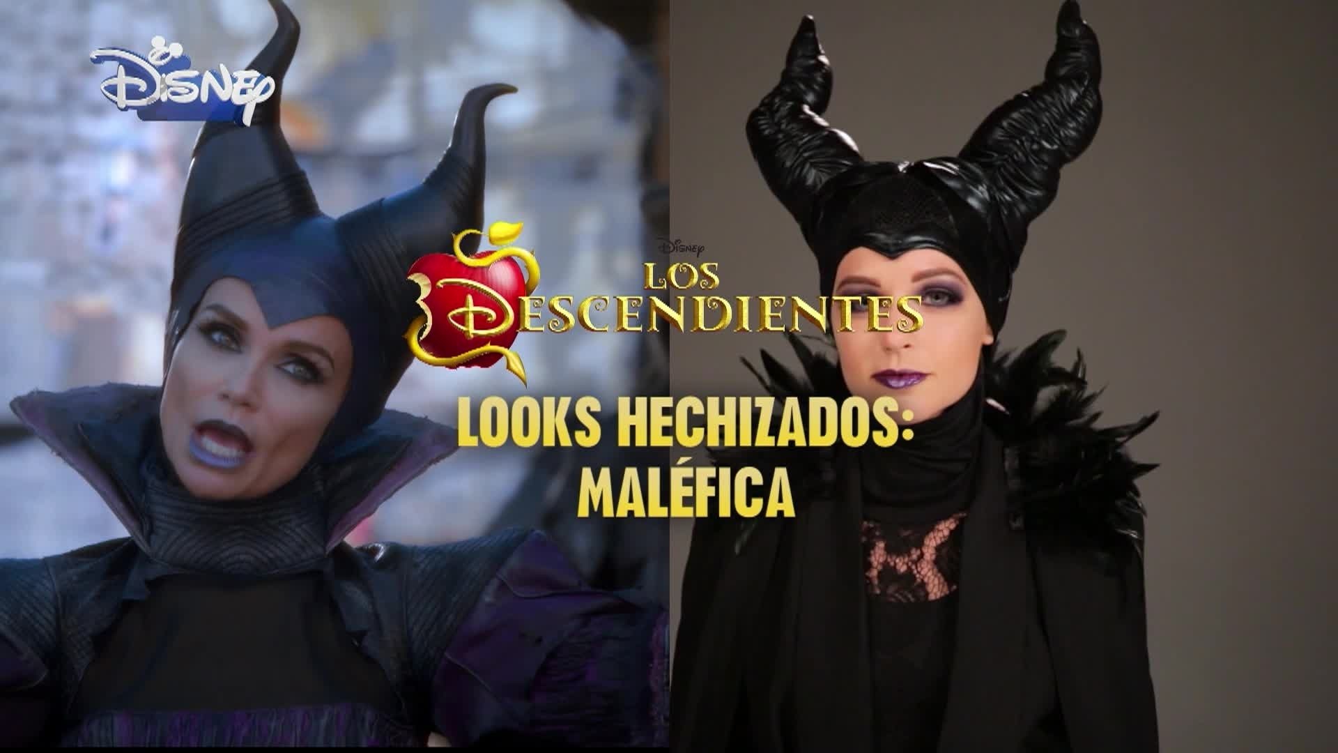 Los Descendientes - Halloween Make-Up Tutorial: MALEFICIENT