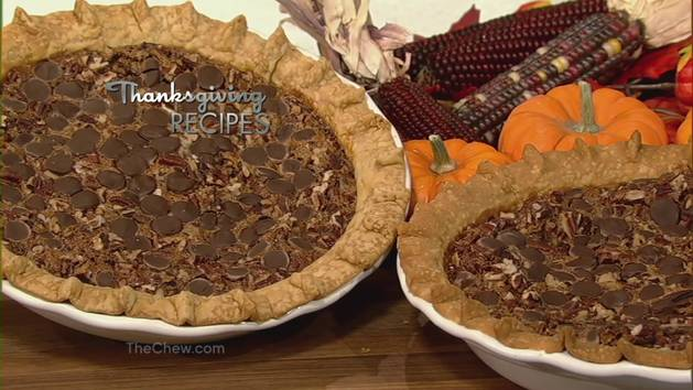Chocolate Pecan Pie - Small Bites - The Chew