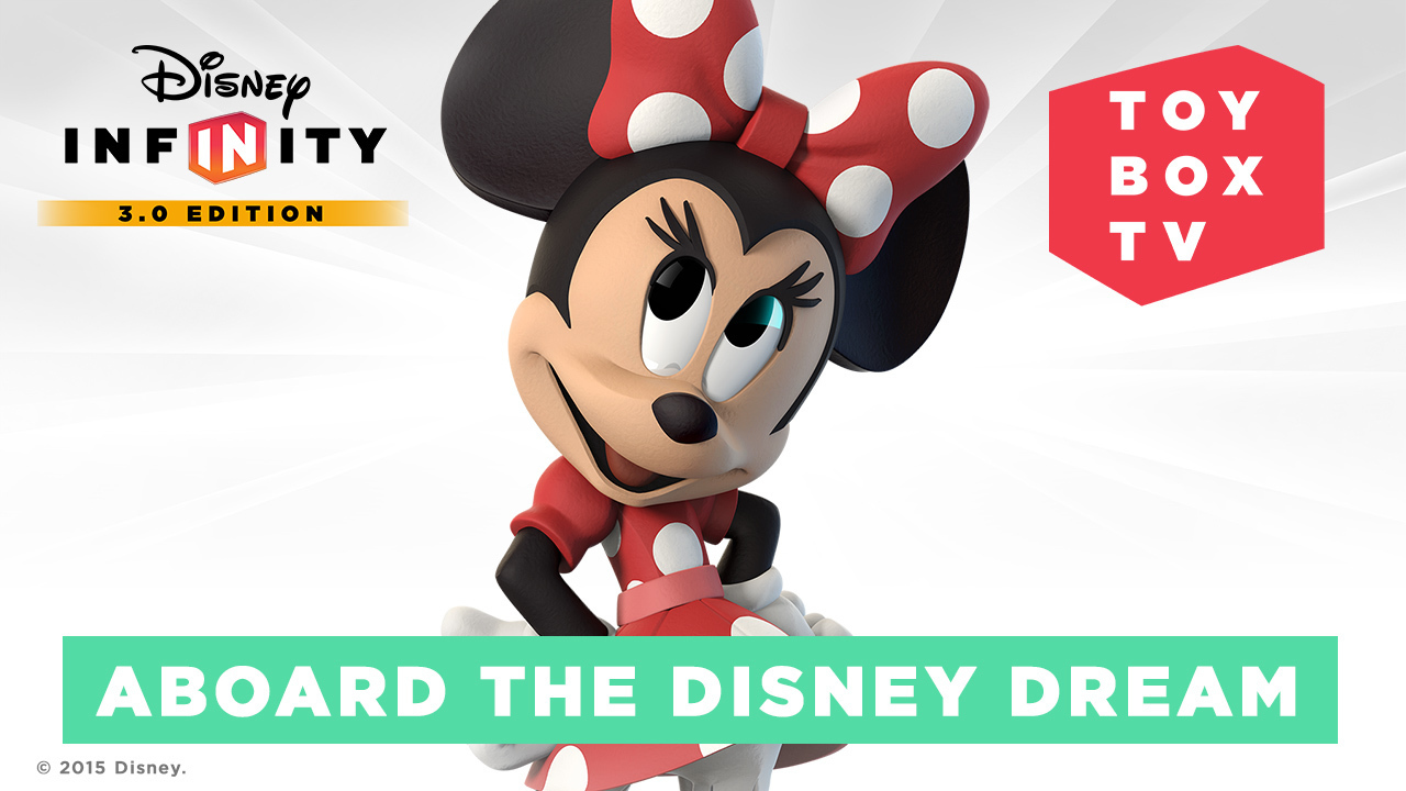 Ep. 96 - Aboard the Disney Dream - Disney Infinity Toy Box TV