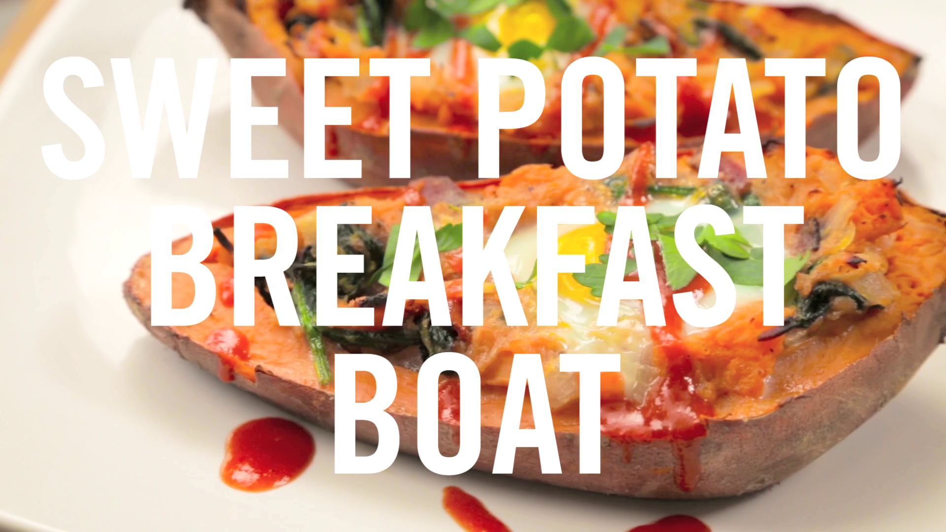 Sweet Potato Breakfast Boats | Babble Eats
