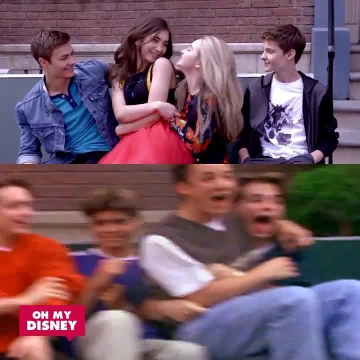 Boy/Girl Meets World Side by Side | Oh My Disney