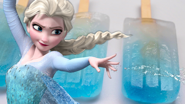 Elsa's Frozen Popsicles | Dishes by Disney