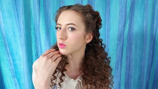 Cinderella Tinsel Hair Transformation | Disney Style