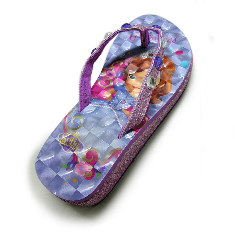 Sofia wedged slippers