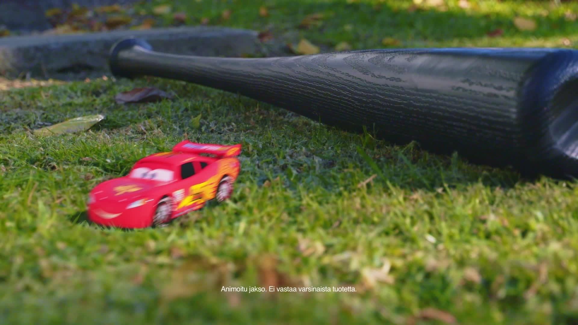 Jalkapallo-ottelu - Cars Daredevil Garage