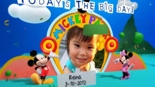 Disney Junior Birthday Book October Album 4