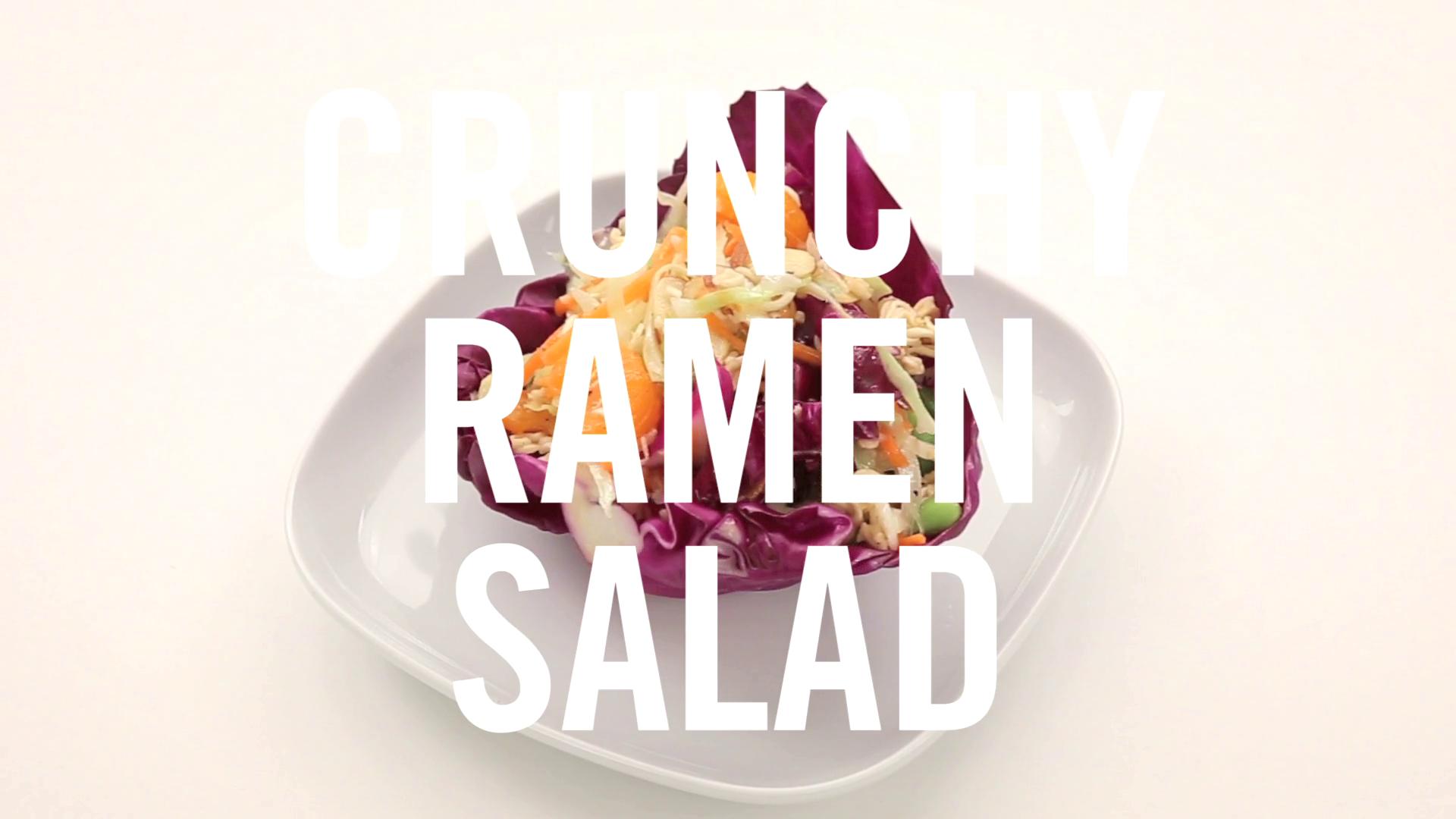 Crunchy Ramen Salad | Babble Eats