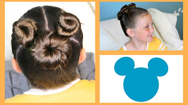 Not-So-Hidden Mickey Hair Tutorial