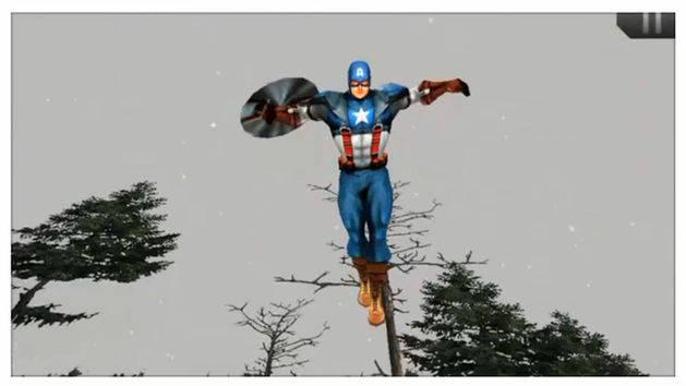Captain America Mobile App Trailer