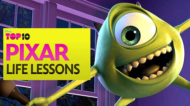 Pixar Life Lessons - Disney Top 10