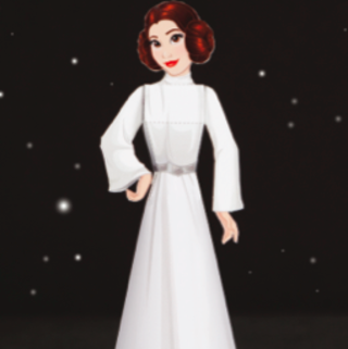 Star Wars Day Crafts: Princess Leia Papercraft