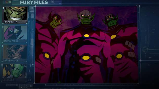 Les Dossiers Fury - Les Skrulls