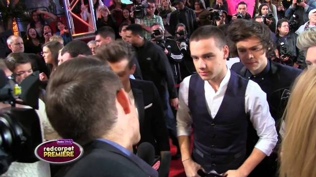 One Direction at The X Factor Red Carpet