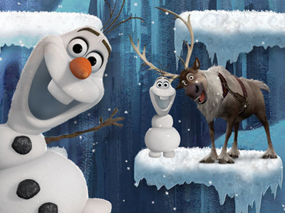 L'escalade givrée d'Olaf
