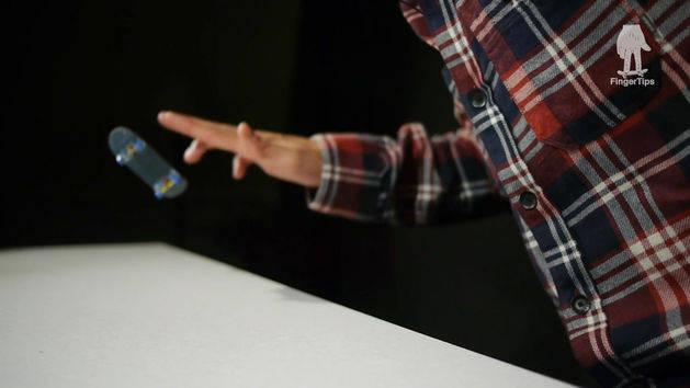 FingerTips Tutorial 20: Ollie 360 Flip