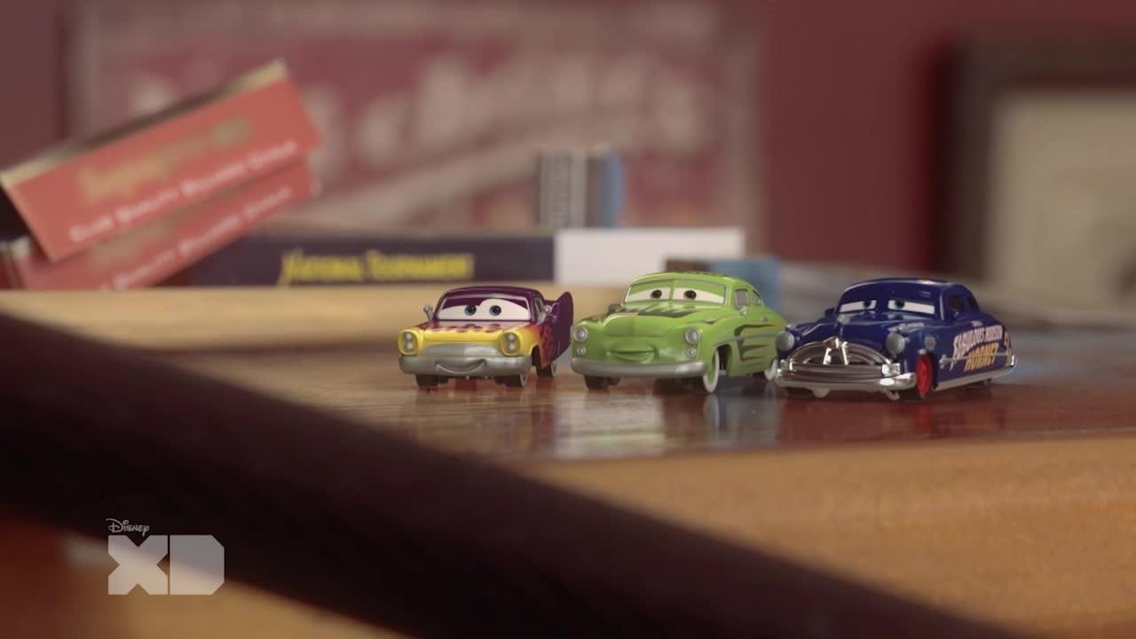 Cars - Sfida su un campo di biliardo XD