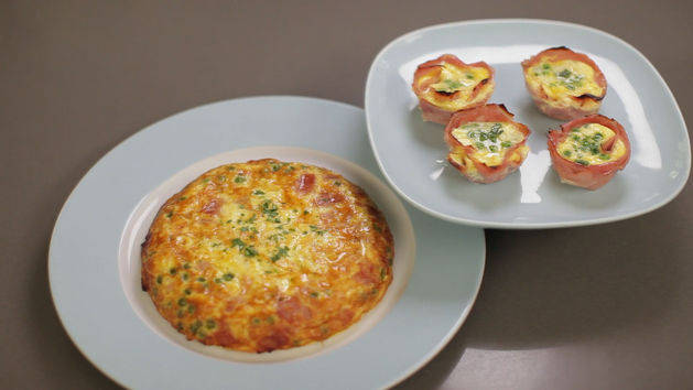 Frittata Two Ways - Breakfast & Dinner