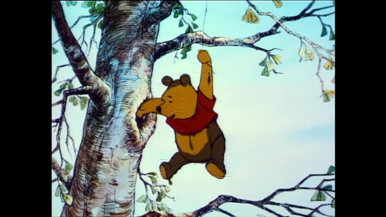 """""""Nubecita negra de lluvia"""" De la película Lo mejor de Winnie the Pooh En Disney Junior"""