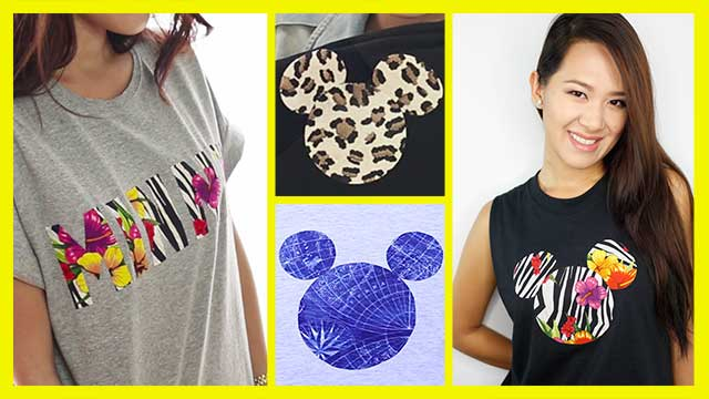 DIY Mickey T-shirt Tutorial
