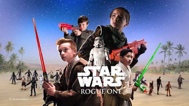 Star Wars Rogue One Hasbro Figures and Vehicle