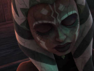 Ahsoka Gripped by the Dark Side