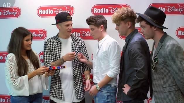 Rixton Bean Boozled Challenge - Radio Disney