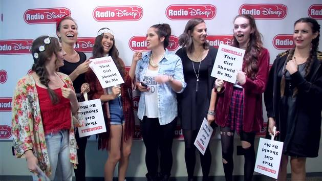"Cimorelli in ""That Girl Should Be Me"" Game - Radio Disney"