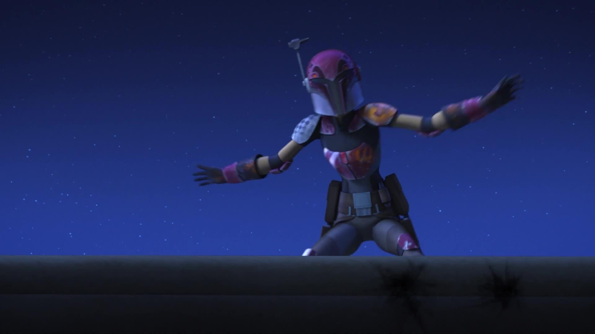 Star Wars Rebels - Sabine's afleiding