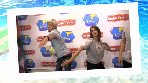 Ross and Maia celebrate Take with Jake