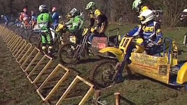 Extreme Sidecar Motorbike Race!