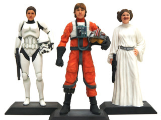 Jedi Knight and TIE-fighter Pilot D-Tech Me Figures Premiere at Star Wars Weekends Starting May 15, 2015