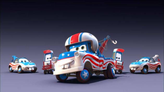 Çizgi Arabalar - Muhteşem Mater